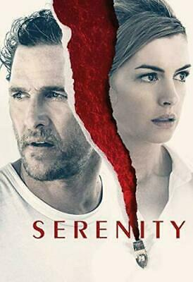 """""""SERENITY"""" DVD 2018 FREE FAST SHIPPING (Disc Only)"""