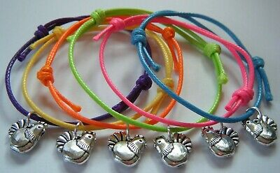 6 Hen Party Holiday Abroad Neon Bright Bracelets Accessories Gifts Choose