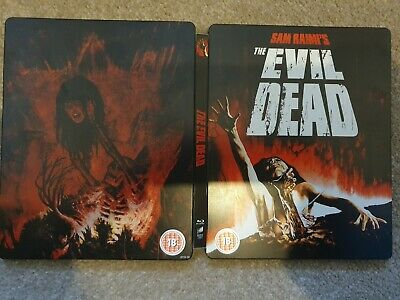 Sam Raimi The Evil Dead (18) Limited Edition Blu Ray Steelbook Bluray