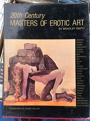 1980 20Th Century Masters Of Erotic Art Book By Bradley Smith