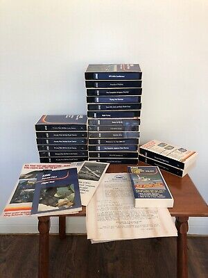 Lot of 22 VHS Tapes King School Private Pilot, Take-off Videos Aviation