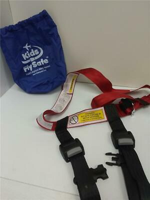 Airplane Seat Harness Child Safety Kids Fly Safe Flight Travel Used Once