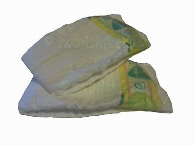 Scented Nappies for Reborn Dolls Genuine Pampers Nappy Size 0 Baby Powder Smell