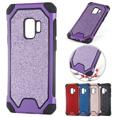 For Samsung Galaxy J4 J6 2018 J7 J5 Pro Case Bling Glitter Silicone Phone Cover