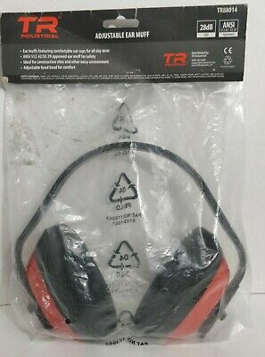 TR Industrial Safety Ear Muffs, ANSI S3.19 Approved Fast Shipping
