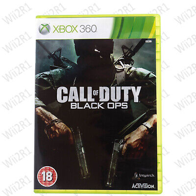 Call of Duty: Black Ops 1 XBox 360 Violent RPG Shooter 18+ XBOX ONE COMPATIBLE