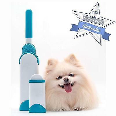 Pet Fur Lint Remover Cleaning Cat Dog Remove Hair from Brush US CA Shipped