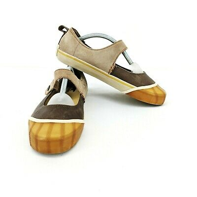 4eba048dd69bf SOREL SENTRY WOMEN Sz 6 Mary Jane Flat Hand Crafted Natural Rubber ...