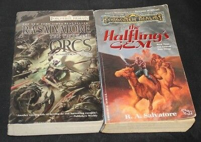 LOT OF 17 R A Salvatore D&D Forgotten Realms Books PB Drizzt Cleric
