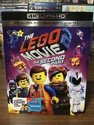 The LEGO Movie 2:The Second Part 4K ULTRA HD+BLU-RAY+DIGITAL