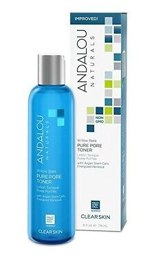 *Andalou Naturals* Willow Bark Pure Pore Toner 178ml / 6fl oz