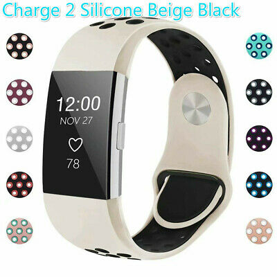 For Fitbit Charge 2 Strap Sports Wrist Band Silicone Replacement Small Large IGK