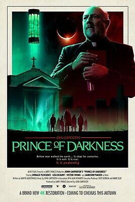 John Carpenter's Prince Of Darkness movie poster (b) : 11 x 17 inches