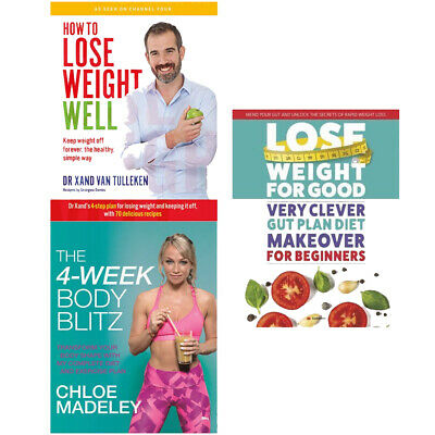 How To Lose Weight Well,The 4-Week Body Blitz,Lose Weight For 3 Books Collection