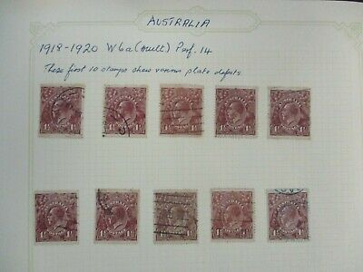 ESTATE: Australian Pre Dec Collection on Pages - Must Have!! Great Value (174)