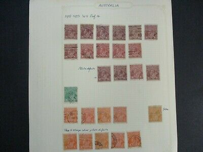 ESTATE: Australian Pre Dec Collection on Pages - Must Have!! Great Value (175)