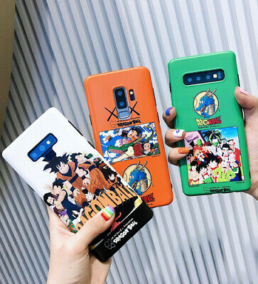 Phone case for Samsung S8 S9 Plus Note 8 Note 9 Soft TPU Dragonball Goku Cover
