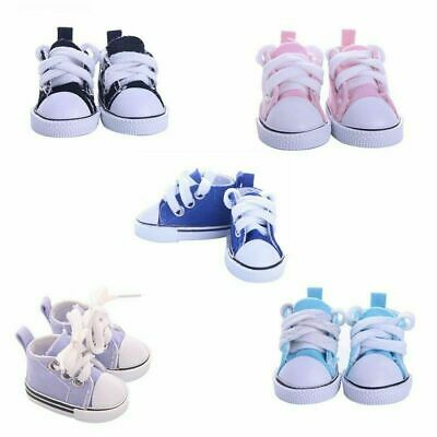 5cm Doll Accessories Sneakers Shoes for BJD Dolls Mini Canvas ShoesToy Magic