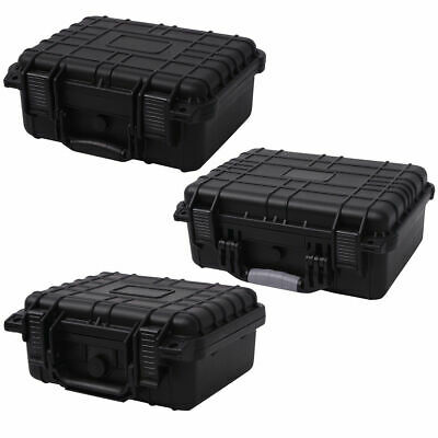 Protective Equipment Camera Tool Carry Hard Case Plastic Storage Box With Foam