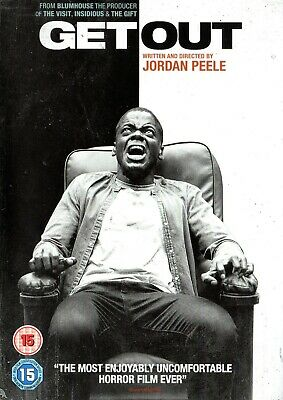 Get Out (2019)   # # # # Outer Dvd Slipcase/Cover Only - No Disc Or Case # # # #