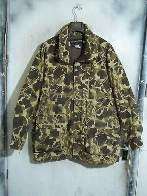 ef19438bb6874 Gamehide Flyway Camo Insulated Hunting Shooting Jacket Size L With Hood