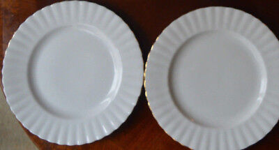 Royal Albert Val D'or TWO  side plates 6.25 ins diameter FLAWLESS ist quality