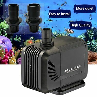 Submersible Water Pump Fish Pond Aquarium Tank Waterfall Fountain Sump Feature #