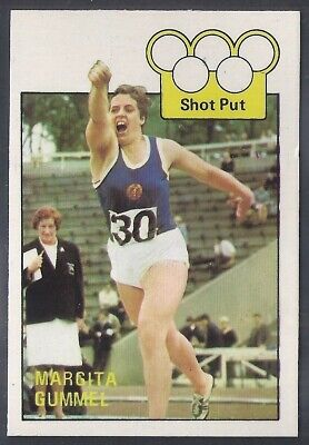 A&Bc-Olympics (X36)1972-#12- Athletics - Margita Gummel