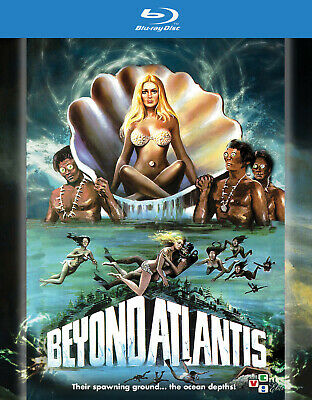 Beyond Atlantis Blu Ray + DVD VCI Entertainment 1973 Eddie Romero