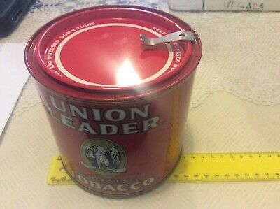 Collectable Union Leader Tobacco Tin