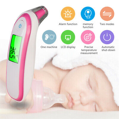 Ear Forehead Thermometer Digital Medical Infrared Thermometer For Baby Kids JR15