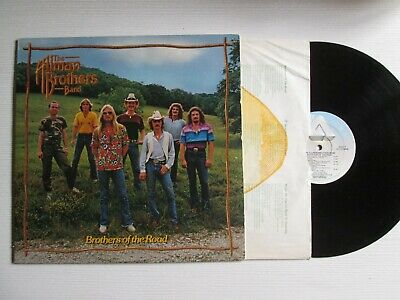 THE ALLMAN BROTHERS BAND Brothers Of The Road LP USA PRESS NO CD MC SOUTHERN
