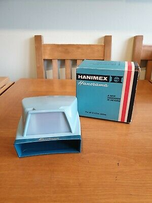 VINTAGE HANIMEX HANORAMA HANDHELD DAYLIGHT 2x2 SLIDE VIEWER