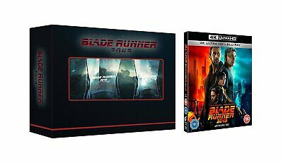 Blade Runner 2049-Limited Edition 4K Ultra HD/Blu Ray With 2 Whiskey Glasses Set