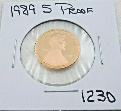 1989 S Proof Lincoln Memorial Cent (1230)
