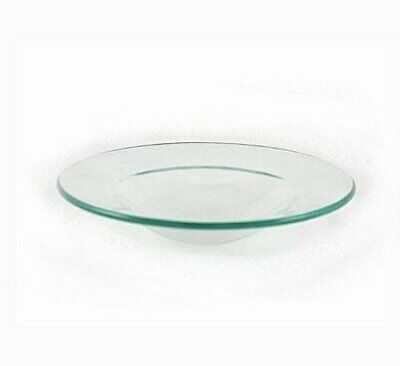 """Replacement Glass Dish for Oil Warmer Tart Burner 4.5"""" Round"""