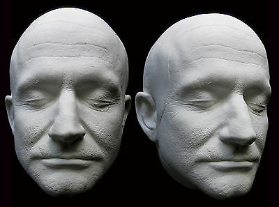 Robin Williams Detailed Life Mask with Ears Lifecast
