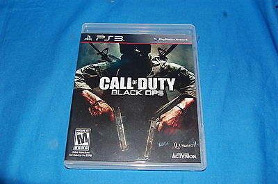 Call Of Duty Black Ops 1 PlayStation 3 MAKE OFFER *FEE SHIP*