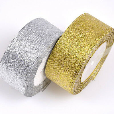 Silk Satin Ribbon 25yards Wedding  Party Festive Decoration Craft Wrapping XS