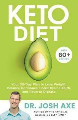 *NEW* KETO DIET: Your 30-Day Plan to Lose Weight...Reverse Disease  DR Josh Axe