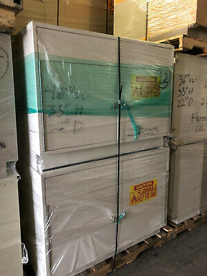 """4' Flammable Laboratory Storage Cabinet, Bench Height 48'x22""""x35"""""""