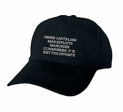 Under Capitalism. Man Exploits Manunder Communism. It Is Just The Opposite Baseb