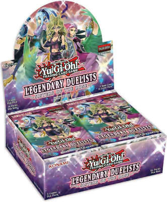 YuGiOh English Legendary Duelists Sisters of the Rose 1st ed Booster Box SEALED^