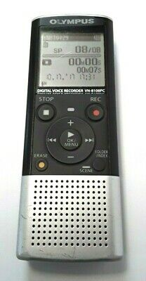 Olympus Digital Voice Recorder VN-8100PC 843 hours Voice Activated Handheld Used