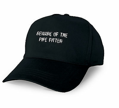 Beware Of The Pipe Fitter Personalised Baseball Cap Pipe Fitter Xmas Gift Custom