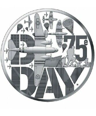 DISPO ! Rare Pièce 10 euro France 2019 D Day argent BE MDP – 75 ans D-DAY - PP