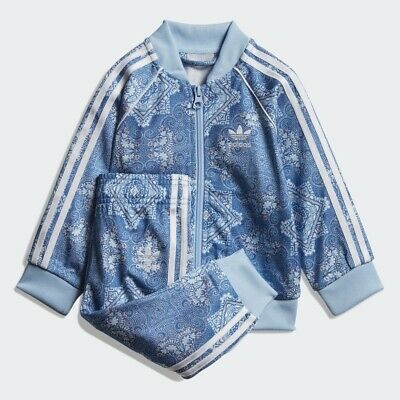 cb3e5f1d385 BABY GIRLS: Adidas Originals Culture Clash SST Track Suit, 3-6 Months DV2320