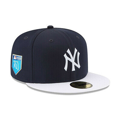 info for 2879f ee8d0 New York Yankees New Era 2018 Spring Training 59FIFTY Fitted Hat Cap 7 1 8