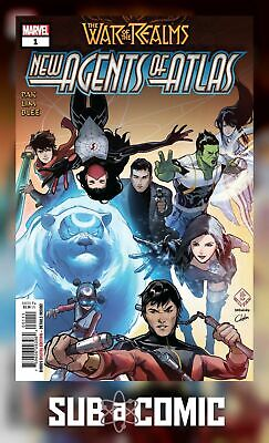 WAR OF REALMS NEW AGENTS OF ATLAS #1 (MARVEL 2019 1st Print) COMIC