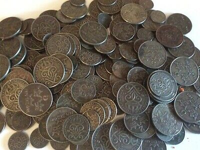 Coins lot ,  9 coins lot . 1-2-5 ore